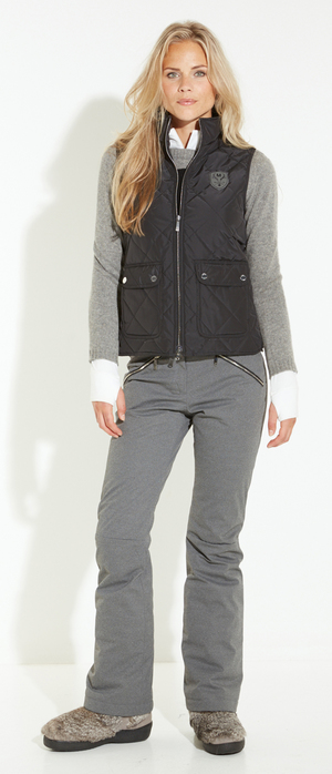 Insulated quilt vest