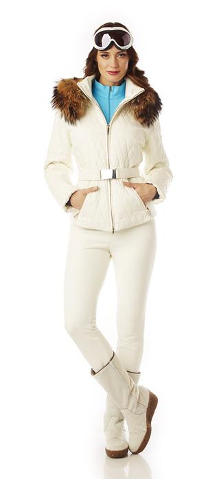 Quilted Ladies Ski Jacket
