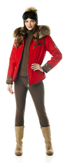 Krista Womens Quilted Ski Parka