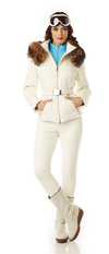 Quilted Ladies Ski Jacket