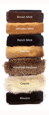 Fur Headbands   Made in the USA